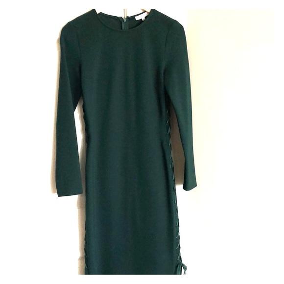 Jenn Dresses & Skirts - Green form fitting dress